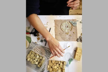 Two Day Weekend Mosaic Workshop : Indirect Technique