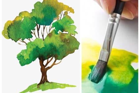 Watercolour Skills Class