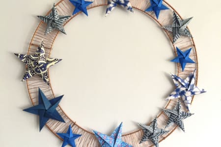 Origami Wreath Workshop