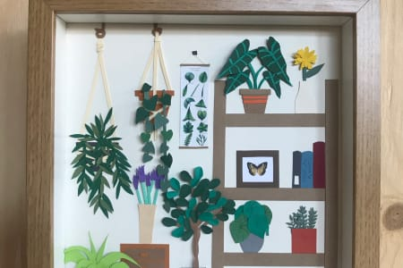 Botanical Paper Cutting Workshop