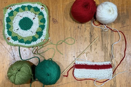 Learn to Crochet Dishcloths