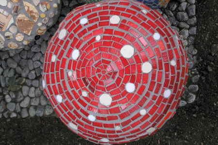 Mosaics for Gardens and Sculptural Form