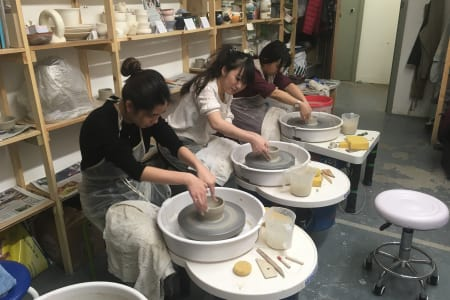 Pottery on the Wheel - Friday Morning