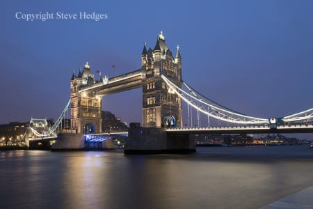 London Night Photography Workshop Tower Bridge