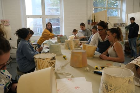 Lampshade Making with Magda Devaris