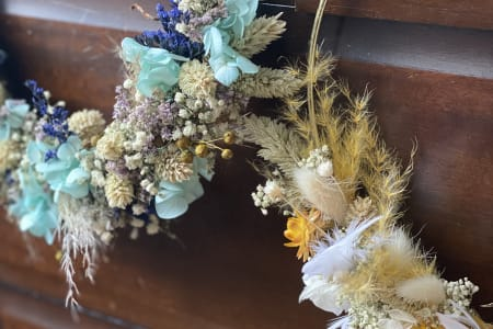 Dry Flower Wreath Making Workshop ALL MATERIALS INCLUDED