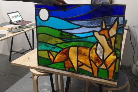 Stained Glass: One-to-one intensive workshops for all abilities