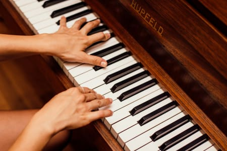 Intermediate Classical Piano Lesson with Maria Grapsa (Adults or Children)
