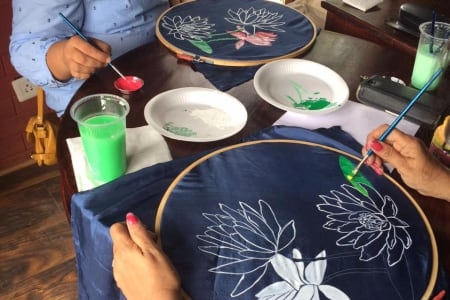 Silk Scarf Painting Workshop