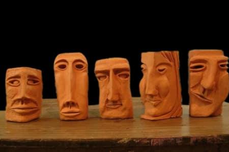 Sculpture Night - Faces