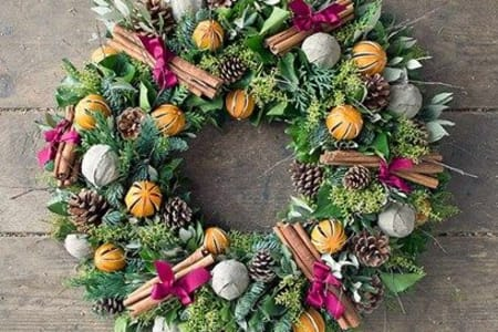 Large Christmas Wreath Masterclass
