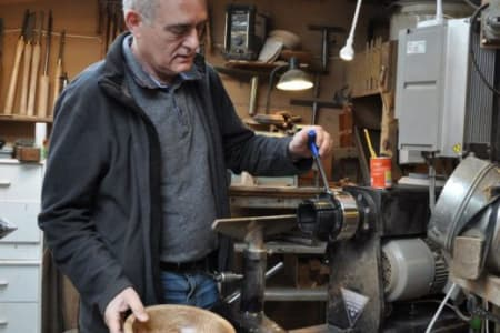 Spindle Turning - a one to one woodturning workshop that will enhance your skills