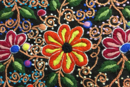 Introduction to Andean hand embroidery with Bella Lane: Morning