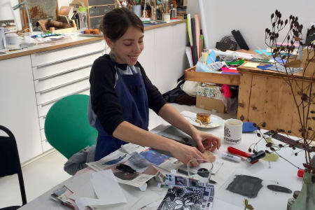 Mono Printing - a fantastic hands-on experimental printmaking workshop
