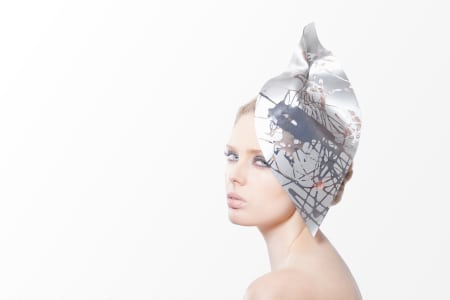 Futuristic and modern millinery class with Katherine Elizabeth
