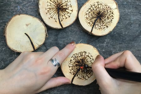 Wood Burning Workshop with MadeByMaika