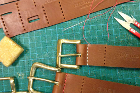 Leather Artisan - Belt Making Workshop
