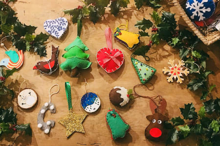 Make Your Own Christmas Decorations!