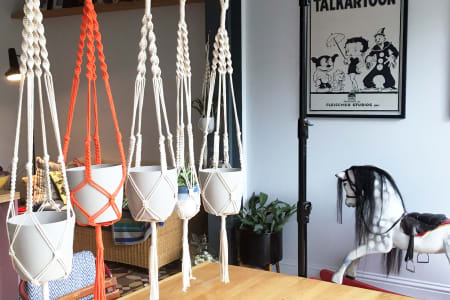 Macrame Workshop - Learn to Make a Plant Pot Hanger