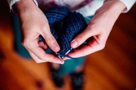 Knitting for Beginners - Weekly Classes