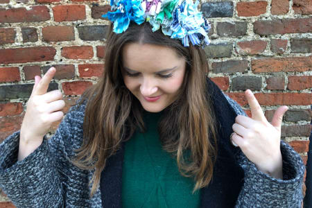 Rag Rug Headband - Mini Workshop