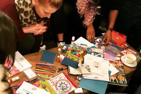 Go L*ve Yourself Body Positivity Workshop - Affirmation Card Making