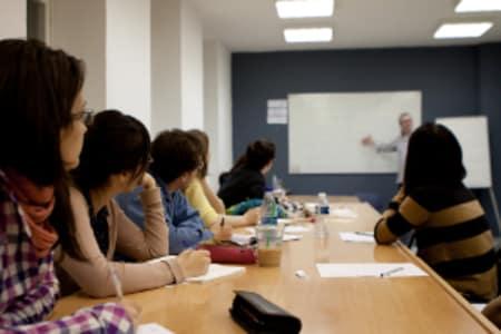 Lively German Conversation Class