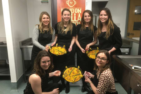Seafood Paella Cooking Class: Battersea