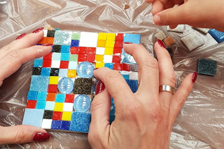 Mosaic making for Me & Mummy/Daddy