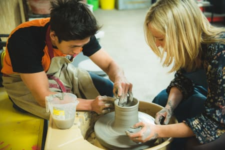 Pottery Wheel Throwing Workshop