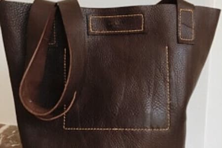 Make your own leather bag