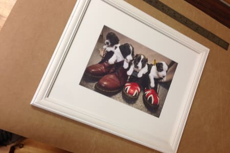 Make Your Own Frame! - Mounting and Cutting, Picture Framing Workshop