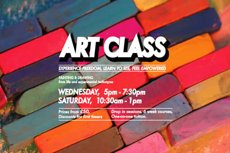 Fine Art Introductory Painting and Drawing, 6 week Course