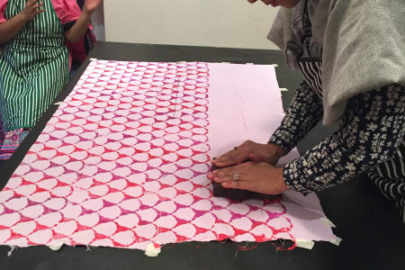 Textile Indian Blockprinting Workshop
