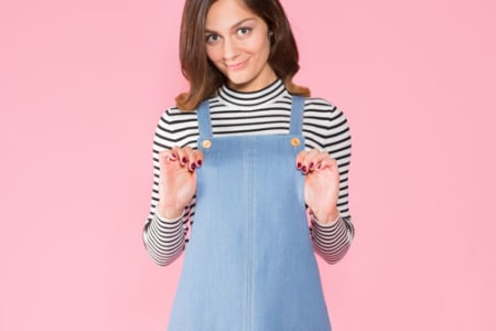 Make a Dungaree Dress