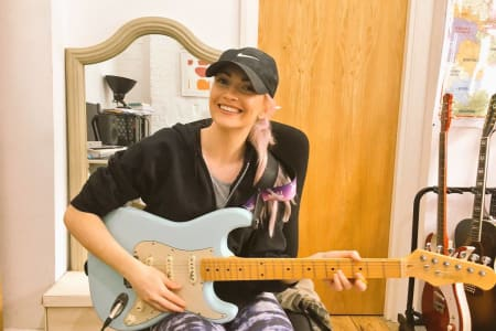 Electric Guitar Lessons at Kensington & Chelsea Guitar School