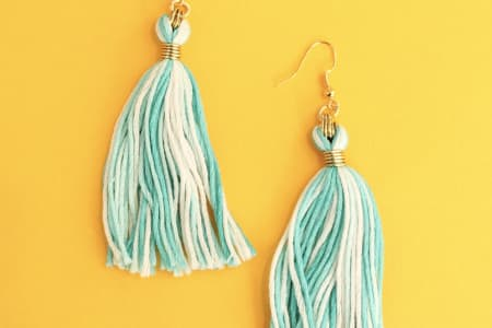 Tassel Earrings - Make your own Summer Jewellery