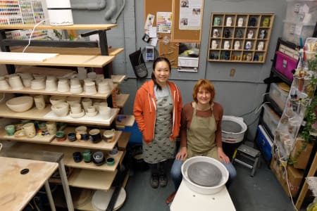 Pottery on the Wheel - Wednesday Evenings