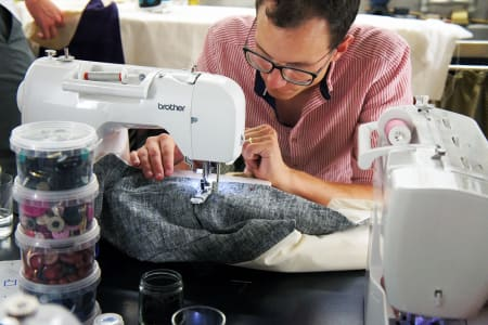 Men's Waistcoat sewing workshop