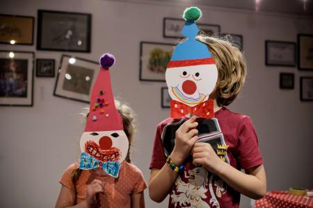 Art & Circus Children Workshop