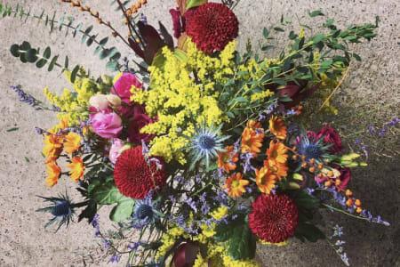 Autumn Handtied Bouquet Workshop