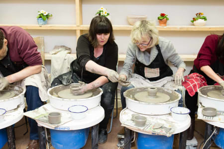 Friday Evening Pottery Class