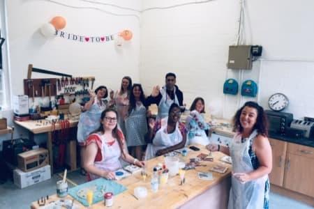 Ceramic Socials with Amanda Cotton | 2-6 Friends | 3hrs | BYOB