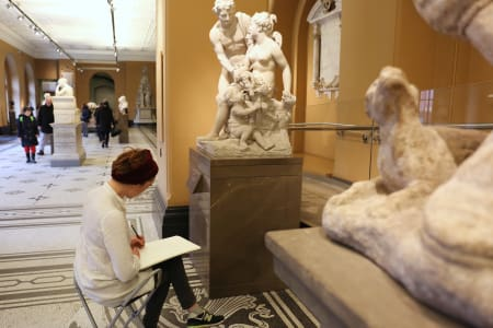 V&A - Traditional Drawing Workshop