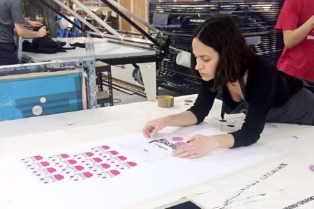Intermediate Fabric Screen Printing Course