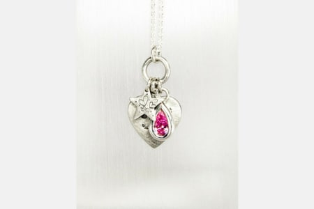 Silver Gem Set Pendant Workshop