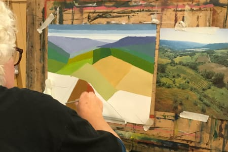 Alternative Landscape with Oils