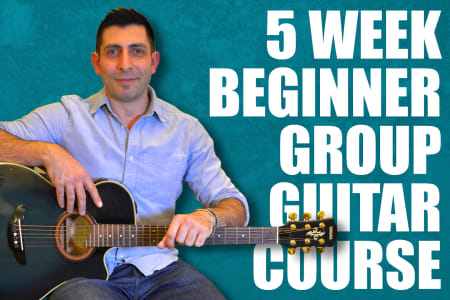 5 Week Stress Free Group Guitar Course