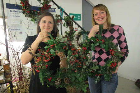 Christmas 'Wild Wreath' Workshop