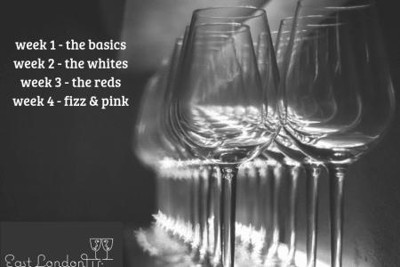 4 Week Beginner's Wine Tasting Course
